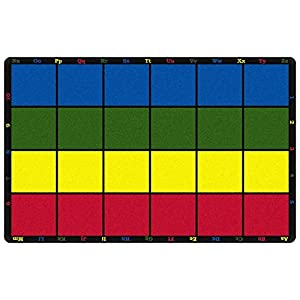 Learning Grid Kids Area Rug 7'6″x12′
