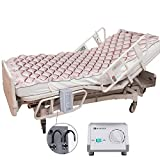 MARNUR Alternating Pressure Mattress Medical Air Mattress with Inflatable Pad & Electric Pump System for Ulcer Bedsore Prevention and Pressure Sore Treatment-Fits Standard Hospital Beds