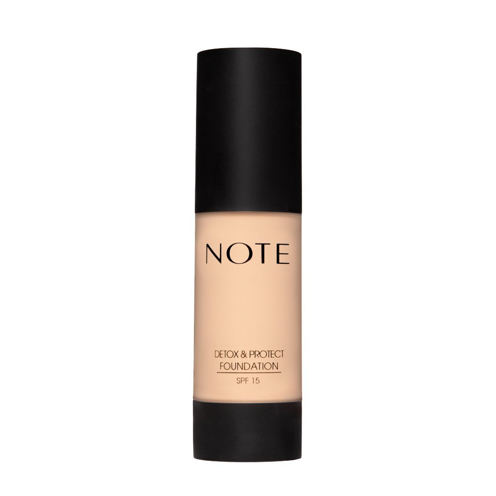 NOTE depot Cosmetics Detox Protect Foundation No. Max 46% OFF 01 3 Ounce