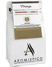 AROMISTICO | Rich Aroma Swiss Water DECAF Medium Roast | Premium Italian GROUND COFFEE | FIRENZE BLEND | French Press, Moka, Filter, PourOver Drip, Aeropress | FULL BODIED, LIGHTLY SPICY & COCOA-Like