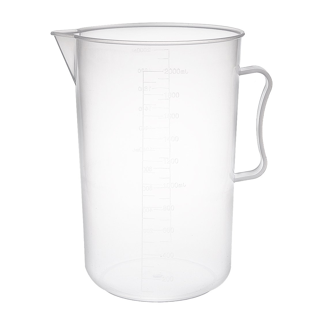 uxcell Measuring Cup 2000ml PP Graduated Transpar Plastic Year-end annual At the price of surprise account Beaker