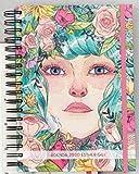 Cuquiland Esencia, Agenda ilustrada por Esther Gili, Tamaño Único, Multicolor - 23 x 5 cm