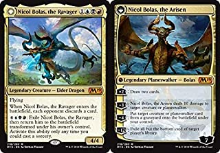 Nicol Bolas, the Ravager//Nicol Bolas, the Arisen - Core Set 2019