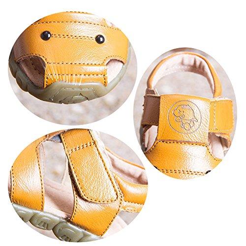 Eagsouni Unisex Kinder Sandalen aus weichem Leder - 6