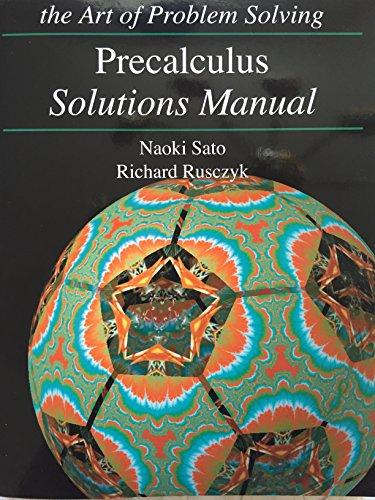 Art of Problem Solving Precalculus Solutions Manuals