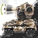RC Tank-alta velocidad de descarga Water Bomb mando a distancia Toy Car 2.4G mando a distancia eléctrico Tank de combate guerra juguete del tanque Model Army Boy regalo de juguete del niño