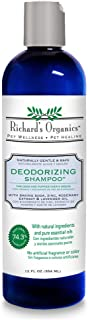 Richard's Organics Deodorizing Shampoo for Dogs, 12 oz. – With Baking Soda, Aloe Vera, Zinc, and More to Remove and Control Odors – Naturally Gentle, Safe