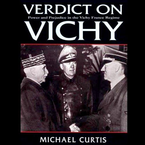 Verdict on Vichy audiobook cover art