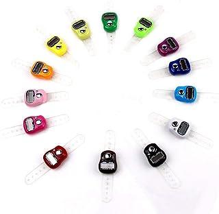 Busirde Útil Contador de Fila electrónico Finger Digit Marker LCD Tally Counter