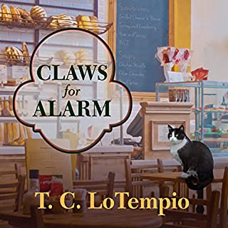 Claws for Alarm     Nick and Nora Mysteries Series #2              By:                                                                                                                                 T. C. LoTempio                               Narrated by:                                                                                                                                 Amy Rubinate                      Length: 7 hrs and 15 mins     72 ratings     Overall 4.4
