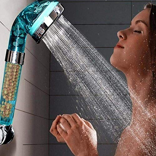 Hand shower Healthy Negative Ion SPA Filtered Adjustable Shower Head, Three Shower Mode, Negative Lon SPA Shower Head
