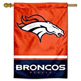 WinCraft Denver Broncos Two Sided House Flag