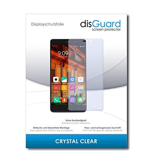 disGuard® Bildschirmschutzfolie [Crystal Clear] kompatibel mit Elephone P9000 Lite [2 Stück] Kristallklar, Transparent, Unsichtbar, Extrem Kratzfest, Anti-Fingerabdruck - Panzerglas Folie, Schutzfolie