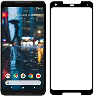 Google Pixel 2 XL (6.0) 3D Curved Full Coverage Tempered Glass Screen Protector For Pixel 2XL Mobile With Black Frame
