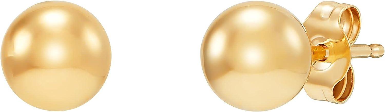 Welry '5 mm Ball Stud Earrings' in 14K Yellow Gold