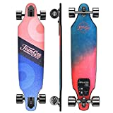Teamgee H9 37' Ultra-Thin & Lightweight Electric Skateboard, 26 MPH Top Speed,...