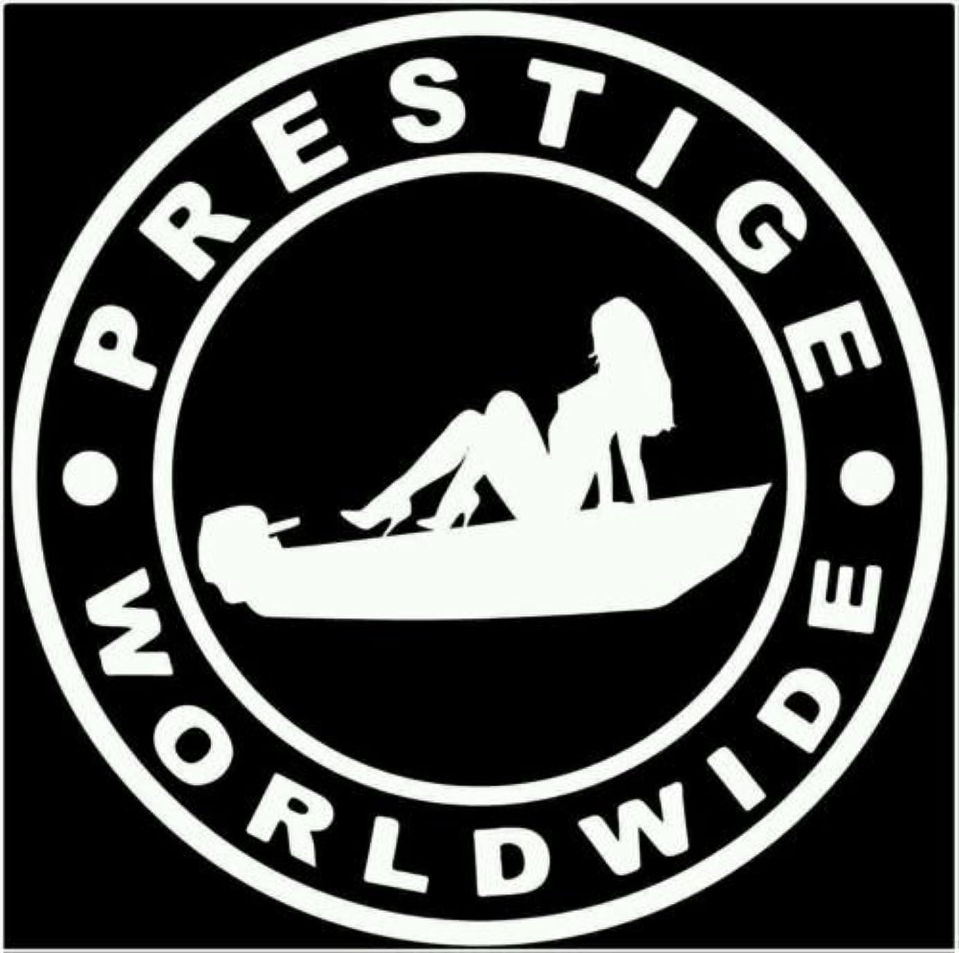 Prestige worldwide boats and hoes Jon boat skiff decal sticker