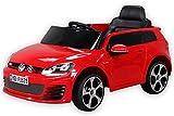 Coche eléctrico para niños con RC 2,4 GHz, Volkswagen Golf 7 GTI