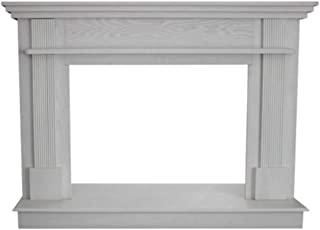 Ashley AG34MK-W White Mantel Kit for AGVF340 Stove