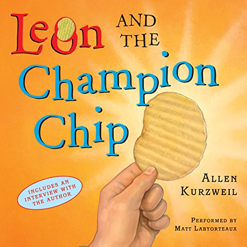 Leon and the Champion Chip audiobook cover art