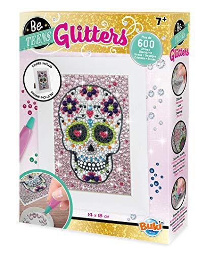 BUKI DP008 - Be Teens Glitters - Totenkopf