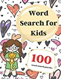 Word Search for Kids: Large Print 8.5x11 Word Search Puzzle Books for Kids