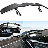 Trunk Wing Spoiler Universal for Ford Mustang Chevy Camaro Dodge Challenger Charger Ford Fusion Corvette C3-C8 Honda Civic GT Llambo Style Rear Spoiler Wing Tail Lid Adjustable - 61.8inches