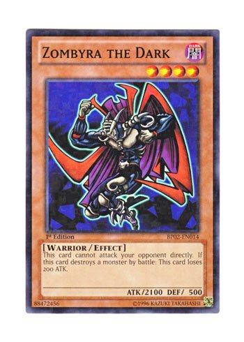 遊戯王 英語版 BP02-EN014 Zombyra the Dark ダーク・ヒーロー ゾンバイア (モザイクレア) 1st Edition