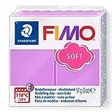 FIMO 8020-62 ST 8020 Pasta de modelar, color lavanda, 56 g