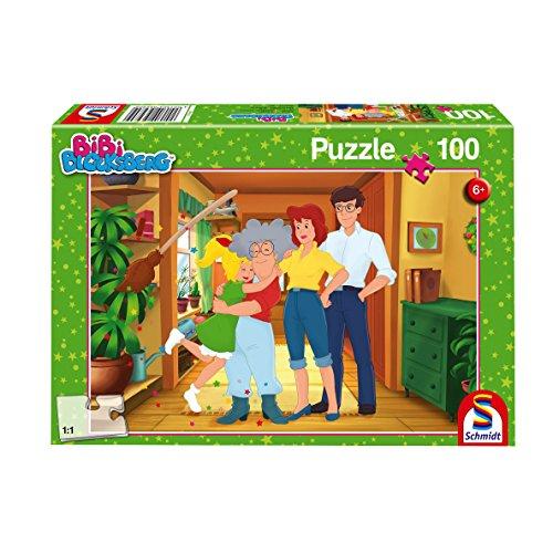 Schmidt Spiele Puzzle 56280Bibi Blocksberg, Abuela es la Mejor., 100Piezas