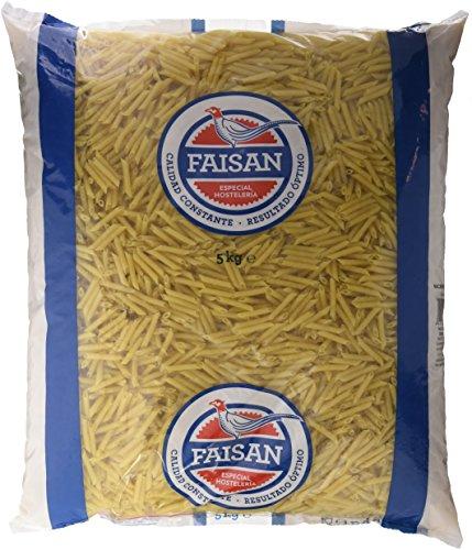 Pasta seca faisan macarrones finos bolsa 5000gr.