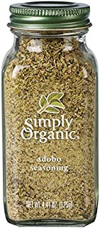 Simply Organic Adobo Seasoning, Certified Organic, Non-GMO | 4.41 oz