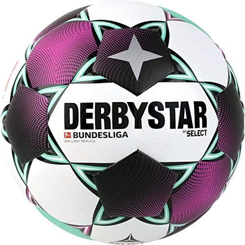 Noir Blanc Derbystar Ballon de Football pour Adulte Brillant TT 1133500142 Vert 5