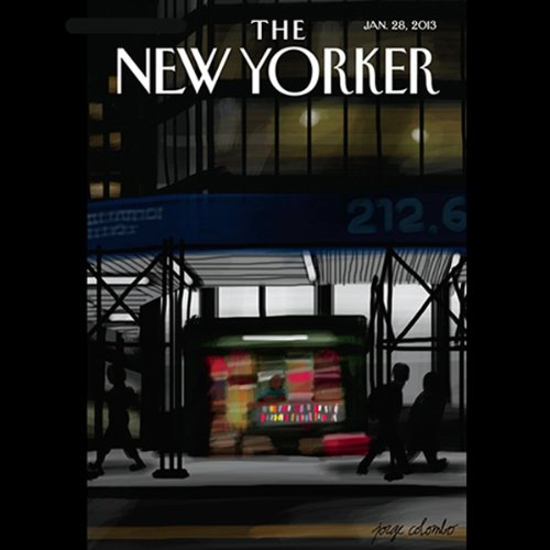 The New Yorker, January 28th 2013 (Jill Lepore, Paige Williams, Jeffrey Toobin) audiobook cover art