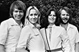 ABBA on the banks of the River Thames 1976 Poster 61x91.5cm