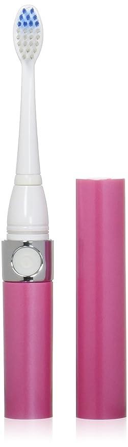 暖かく自発的大砲音波式電動歯ブラシ ピンク 替ブラシ2本付