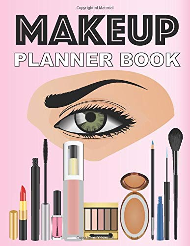 Makeup Planner Book: Face Chart For Professional Make-up Artist Templates To Practice Daily...