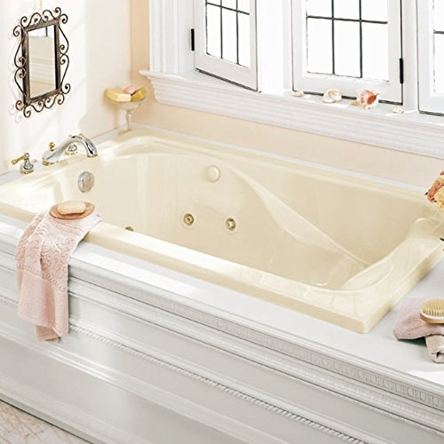 American Standard 2770018W.020 Cadet 5-Feet by 32-Inch Whirlpool with Hydro Massage System-I, White