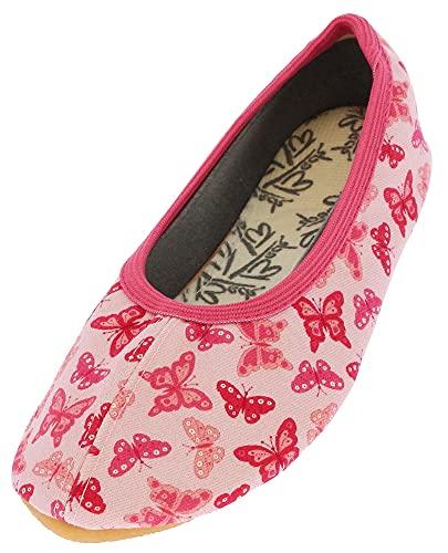 Beck Mädchen Papillon Gymnastikschuhe, Pink (Rosa 03), 30 EU