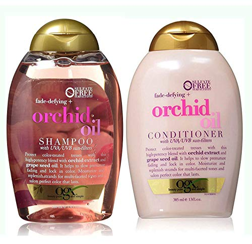Organix Defying Orchid Oil Shampoo and Conditioner