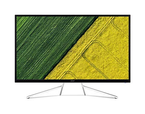 "Acer ET2 32"" WQHD 2560x1440 LED IPS Monitor, 16:9 Aspect Ratio, 4ms Response Time, 2500 cd/m2 Brightness, AMD Freesync Technology, DisplayPort, HDMI, VGA, Speakers (32 Inch) (32-Inch)"
