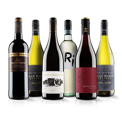 The Ultimate Selection Mixed Wine Case - 6 Bottles (75cl) - Virgin Wines