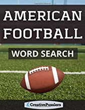 American Football Word Search: Searches and Scrambles Activity Puzzle Book