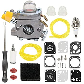 Hayskill C1U-H60 Carburetor 308054003 for Homelite Ryobi 25cc 26cc 30cc String Trimmer CS26 CS30 SS30 S430 UT22600 UT22650 RY09056 RY30550 RY28021 RY28040 RY28041 RY28045