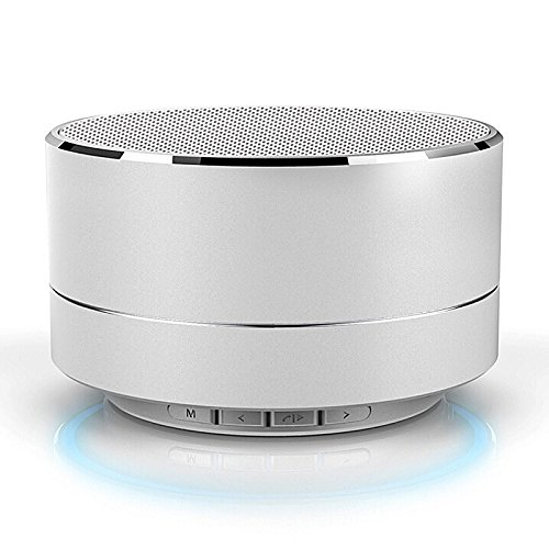 A10 Mini Portable Wireless Bluetooth Speaker for iPhone iPod iPad Samsung (Silver)