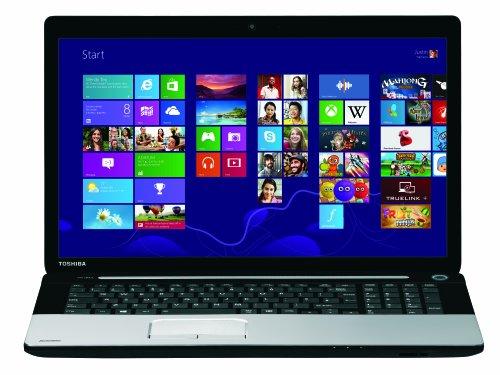 Toshiba Satellite C75-A-13R 43,9 cm (17,3 Zoll) Notebook (Intel Core i5-4200M, 2,5GHz, 4GB RAM, 500GB HDD, Intel HD 4000, DVD, Win 8.1) silber