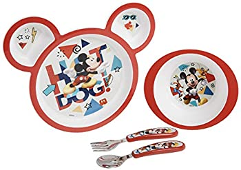 Best mickey mouse plate set Reviews