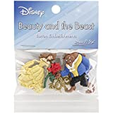 Dress It Up 7724 Disney Button Embellishments, Beauty and The Beast