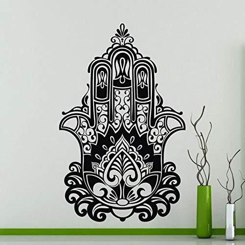 Tianpengyuanshuai muursticker handen ogen Boeddha Yoga Indiase Meditatie Decoratie Vinyl raamsticker slaapkamer behang