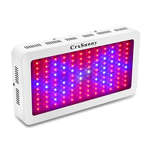 CrxSunny 1200W LED Grow Light Lampada Led Coltivazione per Piante Crescita Luminosa Intensità ideale per Led Agro Crescita in Serra